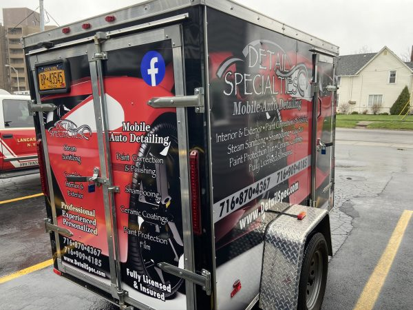 Detail Specialties Trailer Wrap